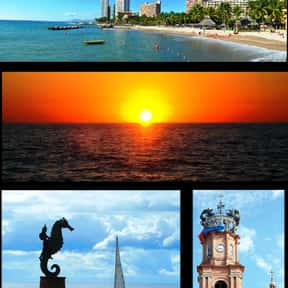 Puerto Vallarta is listed (or ranked) 4 on the list The Best Spring Break Destinations
