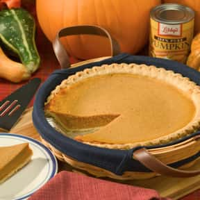 Pumpkin pie is listed (or ranked) 12 on the list The Best Food Gifts to Send