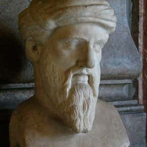 Pythagoras is listed (or ranked) 26 on the list The Most Influential People of All Time