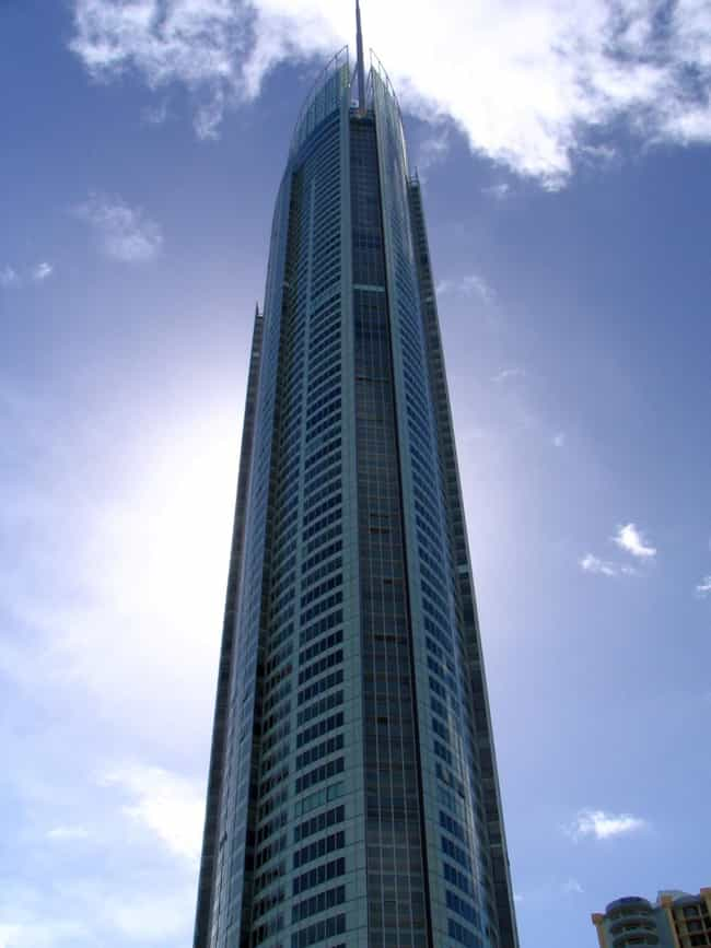 Q1 is listed (or ranked) 3 on the list List of Famous Gold Coast Buildings & Structures