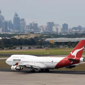 Qantas is listed (or ranked) 2 on the list All Australian Airlines