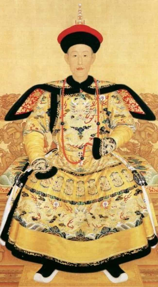 Qianlong Emperor is listed (or ranked) 3 on the list Members of the Qing Dynasty