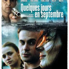 A Few Days in September is listed (or ranked) 8 on the list The Best Movies About 9/11