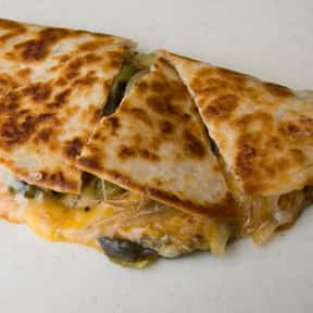 Quesadilla is listed (or ranked) 13 on the list The Most Delicious Bar & Pub Foods, Ranked