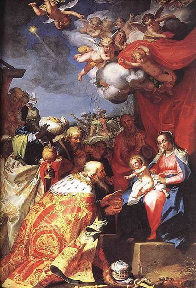 Adoration of the Magi is listed (or ranked) 2 on the list List of Famous Religious Image Paintings