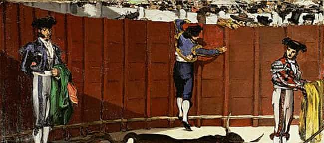 The Bullfight is listed (or ranked) 4 on the list Famous Bullfighting Art