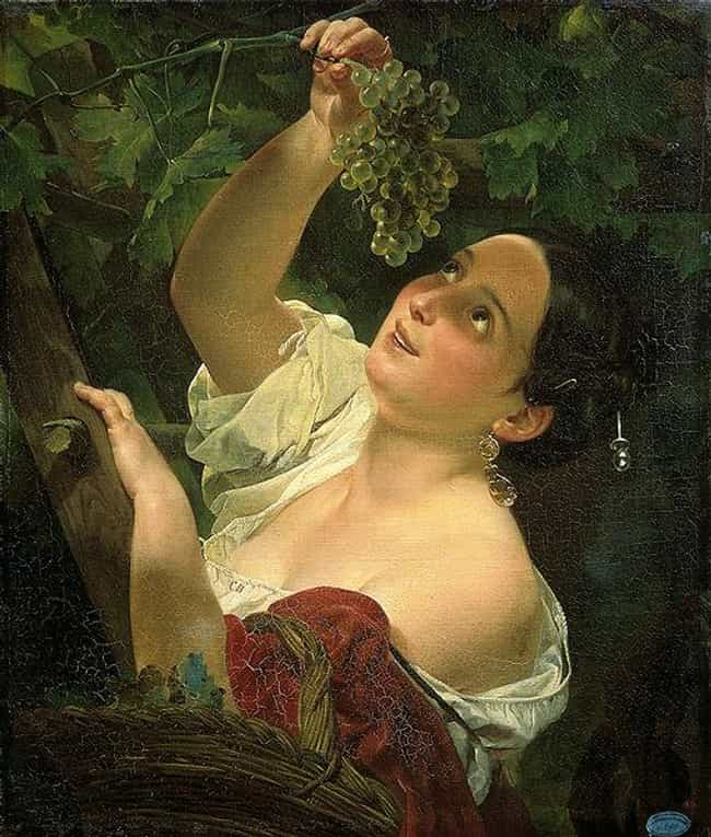 Italian Noon is listed (or ranked) 3 on the list Famous Karl Briullov Paintings