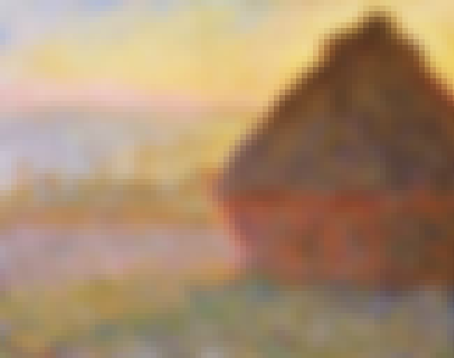 Grainstack (Sunset) is listed (or ranked) 2 on the list Famous Landscape Arts by Claude Monet
