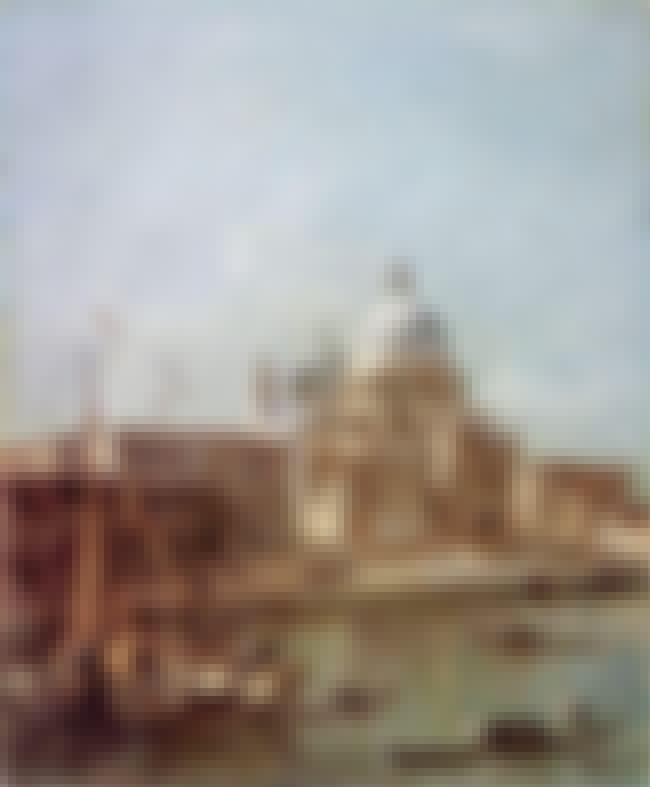 Santa Maria della Salute is listed (or ranked) 4 on the list List of Famous Francesco Guardi Artwork