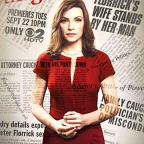 The Good Wife is listed (or ranked) 2 on the list The Best Legal Drama TV Shows Ever