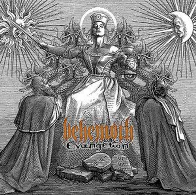 Evangelion is listed (or ranked) 3 on the list The Best Behemoth Albums of All Time