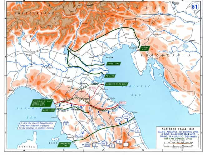 Battle of Ancona is listed (or ranked) 4 on the list List Of Italian Campaign Battles