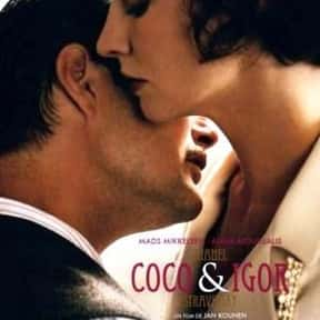 Coco Chanel & Igor Stravinsky is listed (or ranked) 11 on the list The Best Mads Mikkelsen Movies