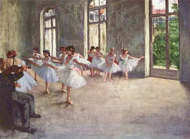 Ballet Rehearsal is listed (or ranked) 3 on the list Famous Edgar Degas Paintings