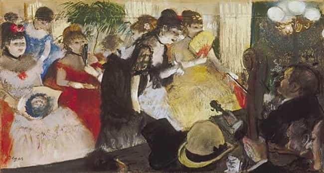 Café-Concert is listed (or ranked) 5 on the list Famous Edgar Degas Paintings
