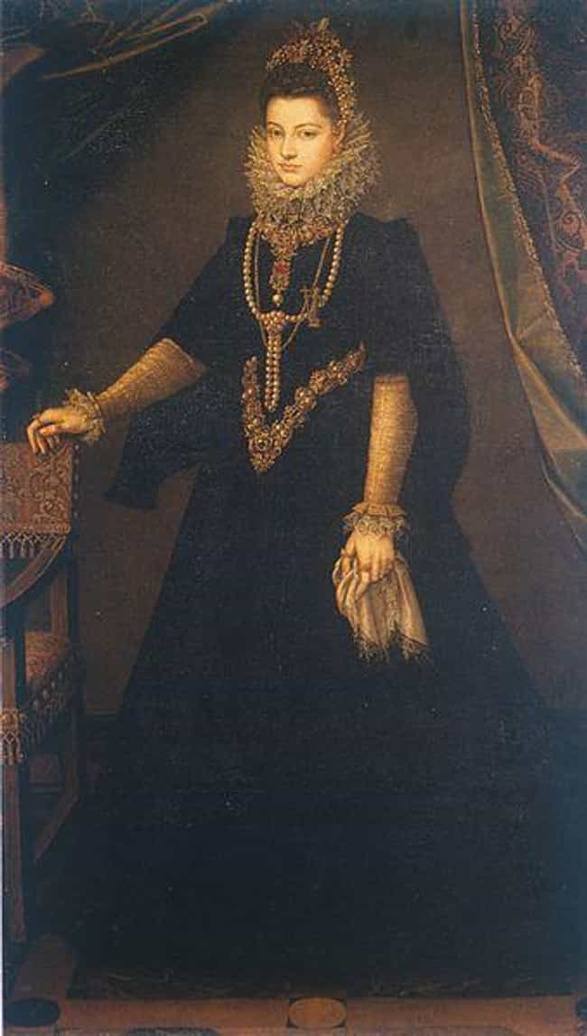 Infantin Isabella Clara ... is listed (or ranked) 3 on the list Famous Sofonisba Anguissola Paintings