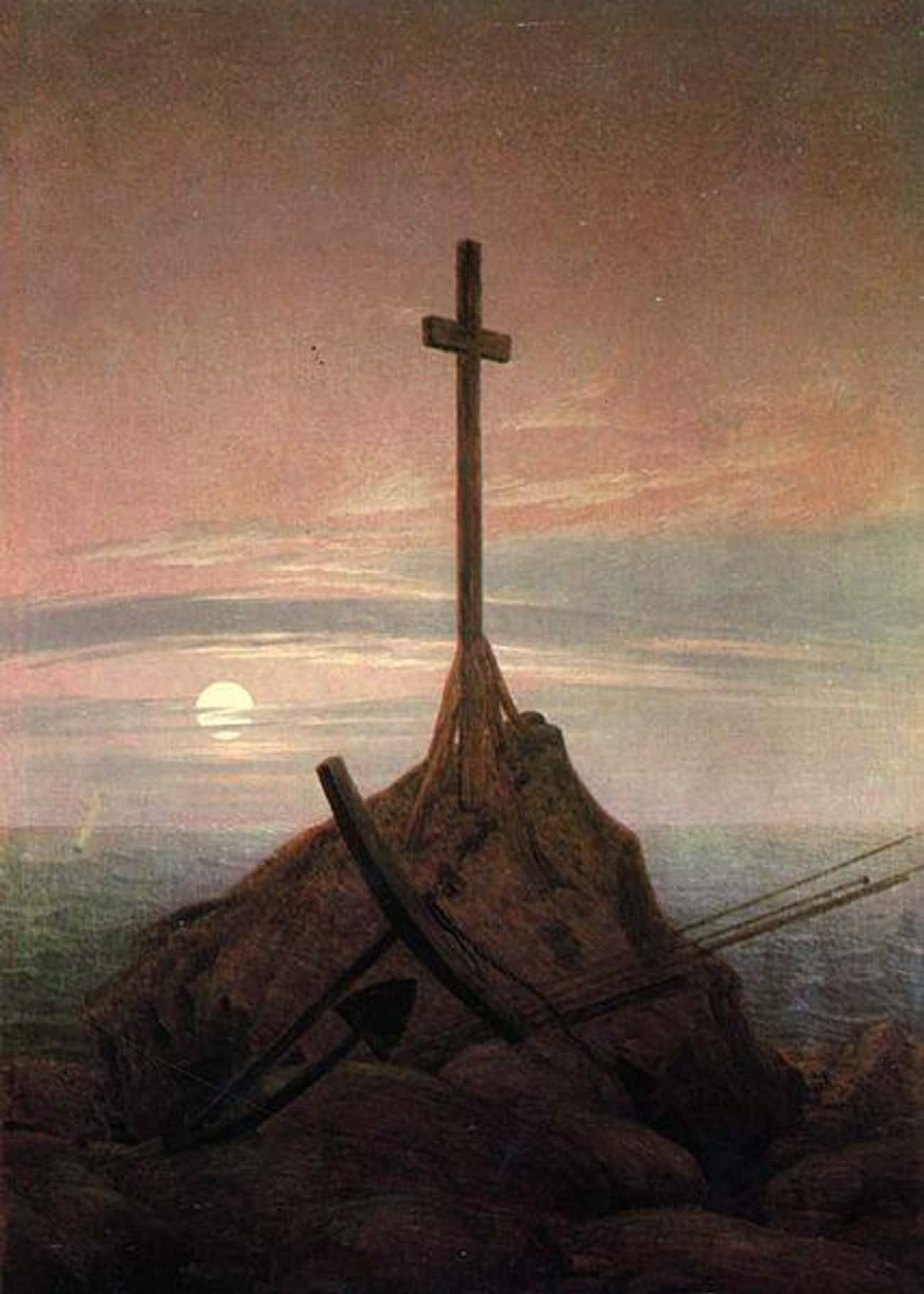 The Cross Beside the Baltic is listed (or ranked) 4 on the list Famous German Romanticism Paintings