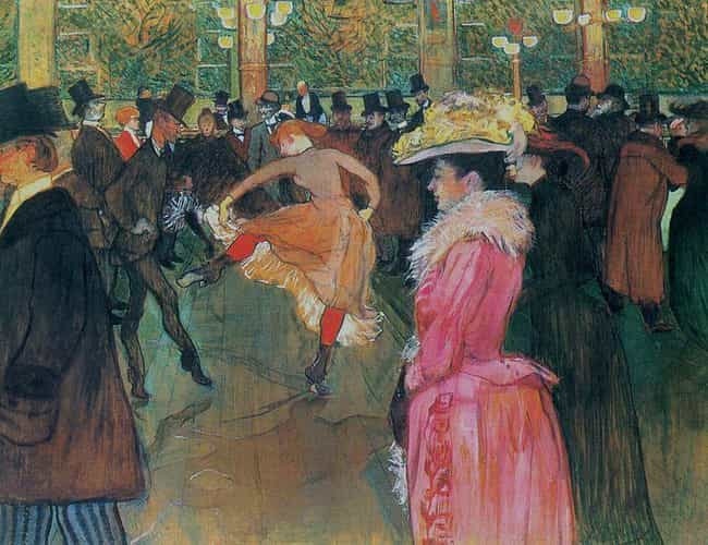 At the Moulin Rouge, The Dance is listed (or ranked) 1 on the list Famous Post-Impressionism Paintings
