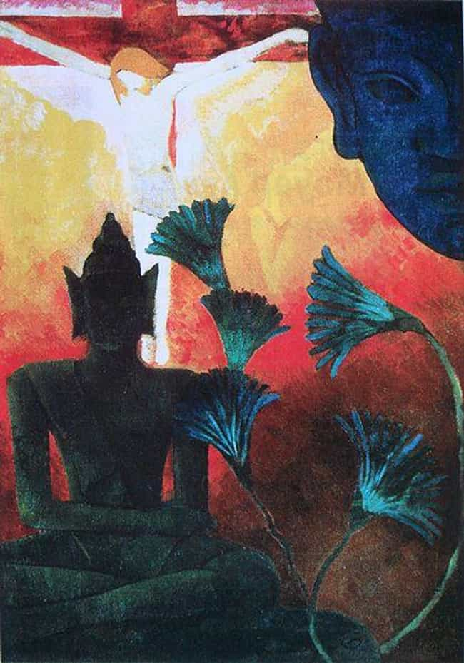 Christ and Buddha is listed (or ranked) 1 on the list Famous Paul Ranson Paintings
