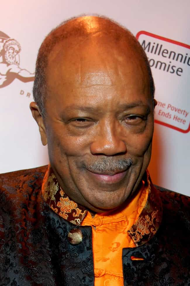 Quincy Jones is listed (or ranked) 4 on the list Famous Male Conductors