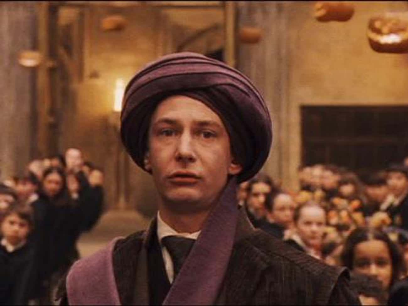 Quirinus Quirrell is listed (or ranked) 4 on the list All the Defense Against the Dark Arts Teachers, Ranked
