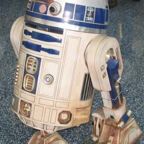R2-D2 is listed (or ranked) 3 on the list The Cutest Robots In Movies And TV, Ranked
