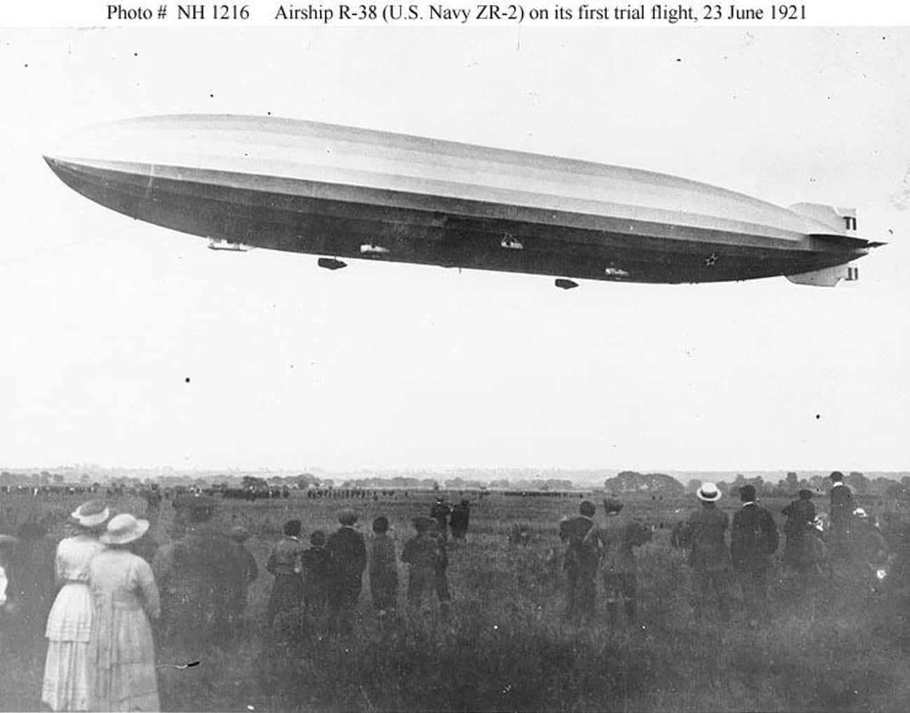 R38-class airship is listed (or ranked) 4 on the list List of Short Brothers Airplanes and Aircrafts