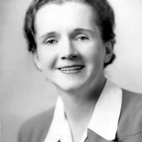 Rachel Carson is listed (or ranked) 3 on the list List of Famous Biologists
