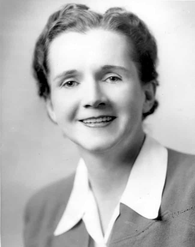 Rachel Carson is listed (or ranked) 1 on the list List of Famous Ecologists