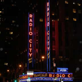 Radio City Music Hall is listed (or ranked) 13 on the list The Top Must-See Attractions in New York