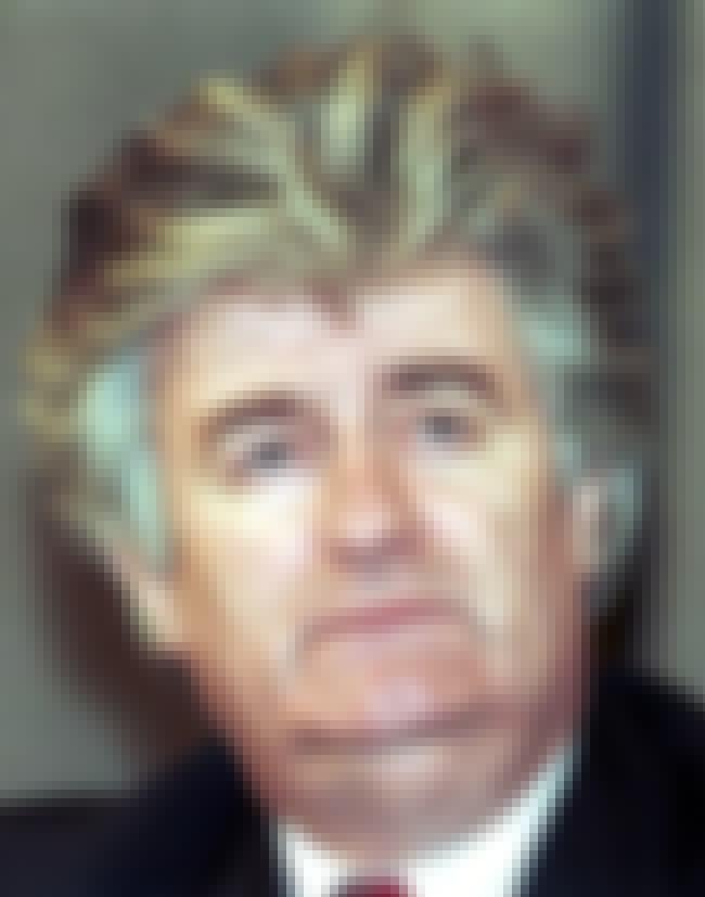 Radovan Karadžić is listed (or ranked) 5 on the list List of Famous Psychiatrists