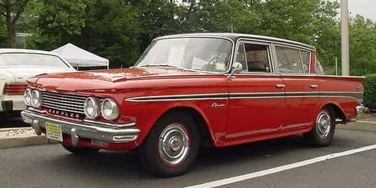 Rambler Classic is listed (or ranked) 3 on the list Full List of Rambler Models