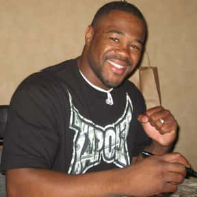 Rashad Evans is listed (or ranked) 17 on the list Famous People Whose Last Name Is Evans