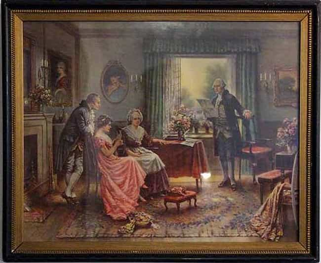 George Washington's Fare... is listed (or ranked) 2 on the list Famous Edward Percy Moran Paintings