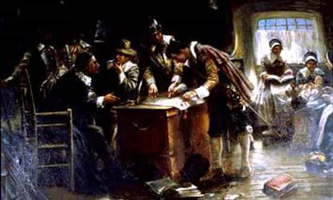 Signing the Mayflower Co... is listed (or ranked) 3 on the list Famous Edward Percy Moran Paintings