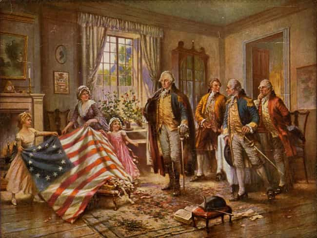 The Birth of Old Glory ... is listed (or ranked) 4 on the list Famous Edward Percy Moran Paintings