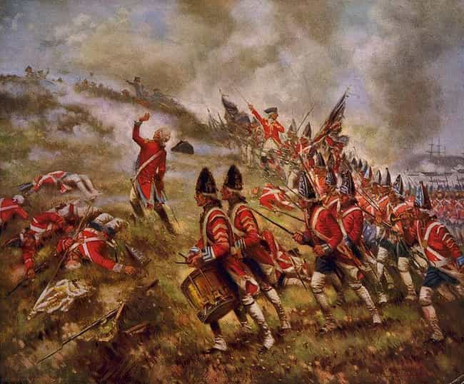 Battle of Bunker Hill is listed (or ranked) 1 on the list Famous Edward Percy Moran Paintings