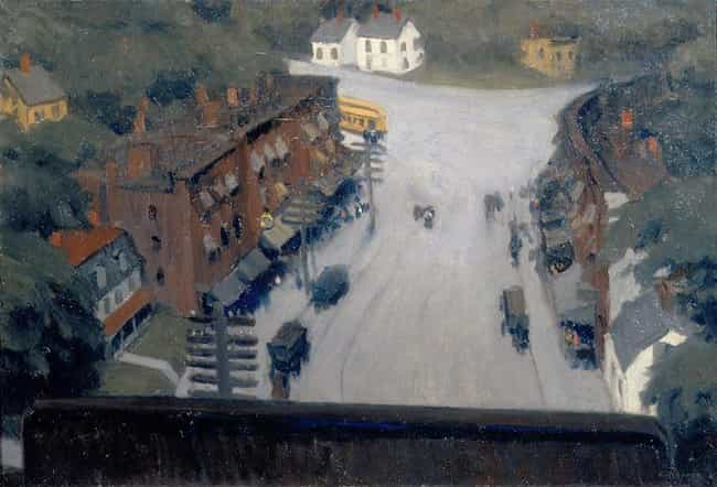American Village is listed (or ranked) 1 on the list Famous Edward Hopper Paintings
