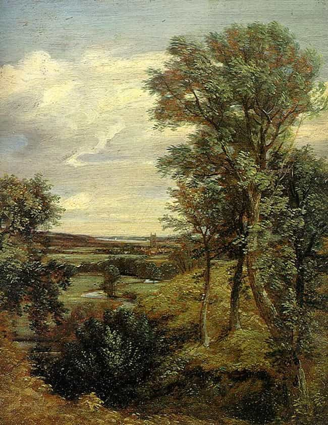 Dedham Vale is listed (or ranked) 4 on the list Famous Romanticism Paintings