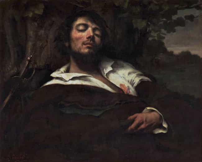 The Wounded Man is listed (or ranked) 4 on the list Famous Genre Paintings by Gustave Courbet