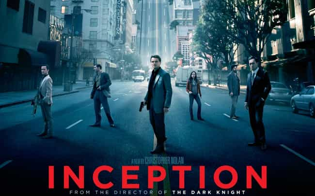 Inception is listed (or ranked) 3 on the list Syncopy Films Movies List