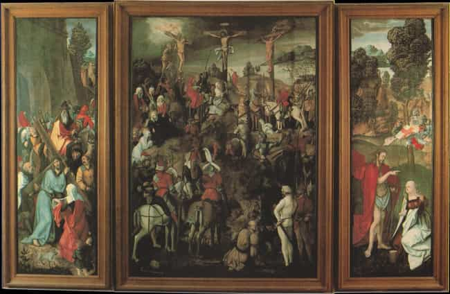 Altarpiece of Ober-St. Veit is listed (or ranked) 1 on the list Famous Renaissance Paintings