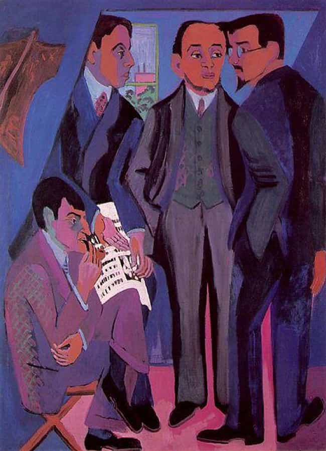 A Group of Artists is listed (or ranked) 1 on the list Famous German Expressionism Artwork