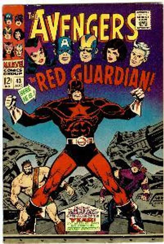 Red Guardian is listed (or ranked) 3 on the list The Best Black Widow Villains