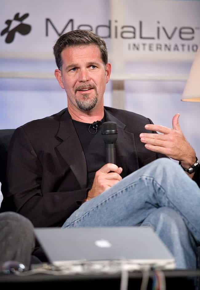 Reed Hastings is listed (or ranked) 1 on the list Famous People who Majored in Mathematics