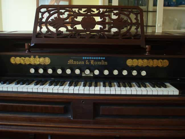 Reed organ is listed (or ranked) 4 on the list Organ - Instruments in This Family