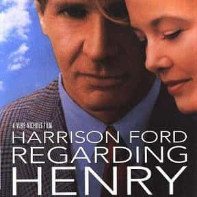 Regarding Henry is listed (or ranked) 20 on the list The Best Memory Loss Movies