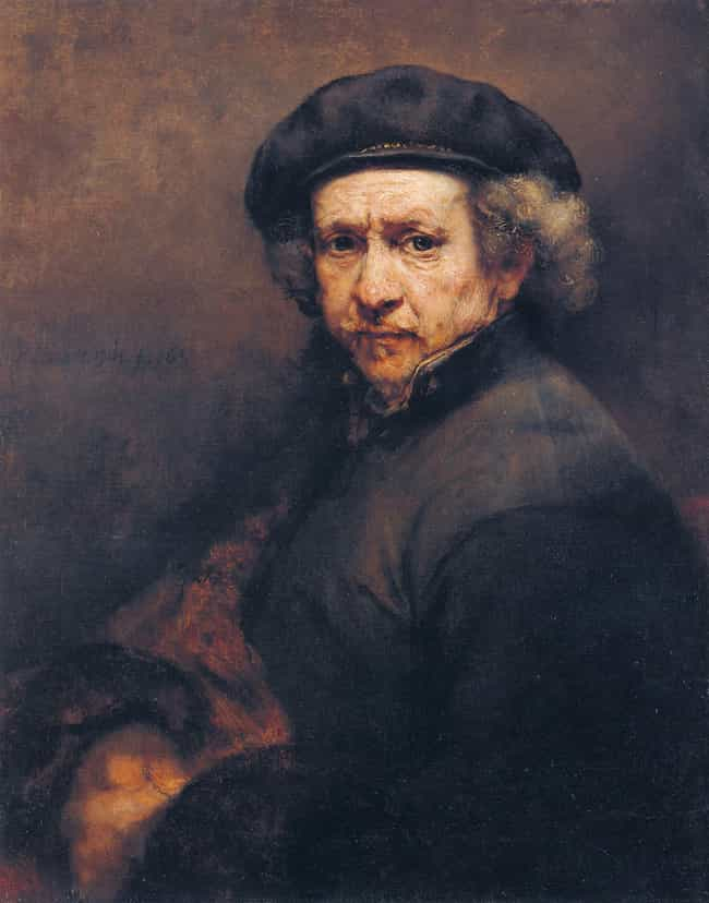 Rembrandt is listed (or ranked) 1 on the list Famous Realism Artists