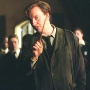 Remus Lupin is listed (or ranked) 2 on the list The Greatest Harry Potter Characters, Ranked