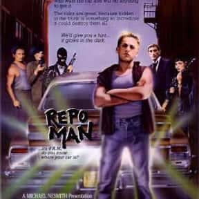 Repo Man is listed (or ranked) 7 on the list Entertainment Weekly's Top 50 Cult Movies